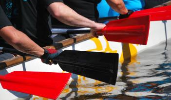 Drachenboot-Event in Berlin