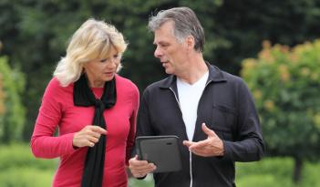 Tablet-Rallye in Berlin