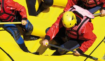 Team Rafting in Berlin